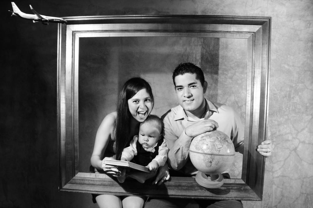 yisell Castillo y family